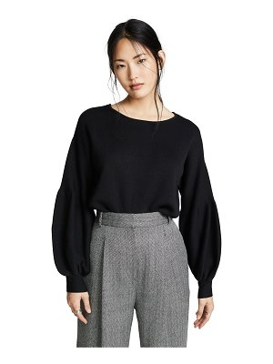 Fred and Sibel puff sleeve sweater