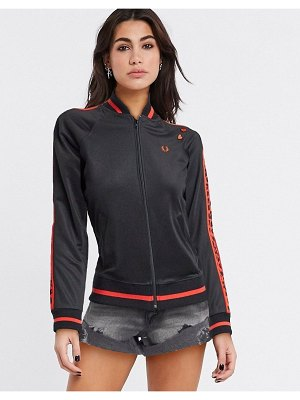 Fred Perry amy track jacket in black