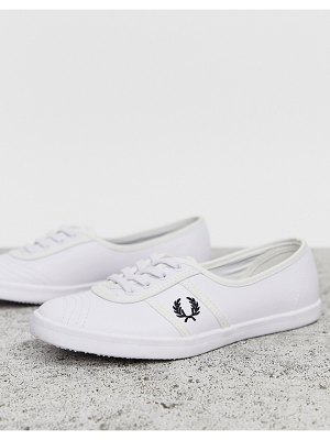 Fred Perry aubrey leather sneakers-white