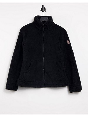 Free Country sierra butter pile fleece in black