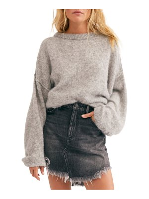 Free People angelic balloon sleeve sweater