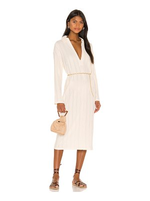 Free People aster collar tee dress