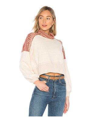 Free People at the lodge sweater