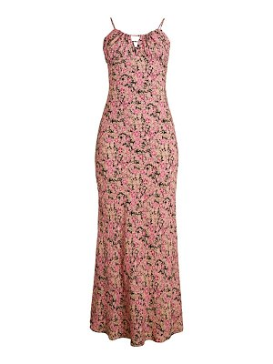 Free People Bon Voyage Floral Midi Dress
