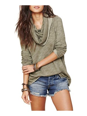 Free People cocoon cowl neck top