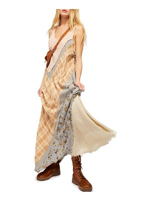 Free People cozy craft sleeveless maxi dress