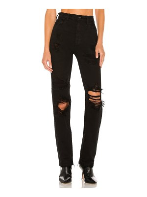 Free People crvy straight shooter jean