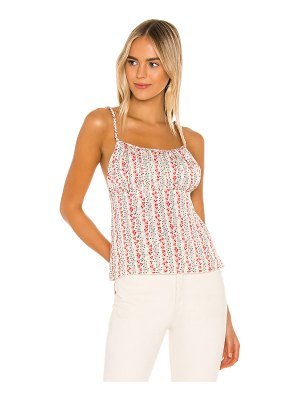 Free People donna printed cami