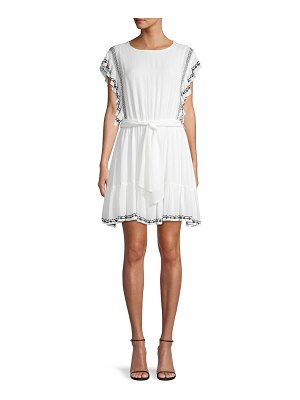 Free People Fit & Flare Belted Dress