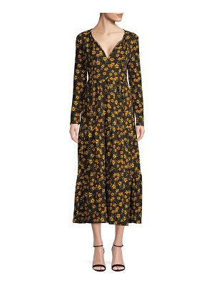 Free People Floral Midi Dress