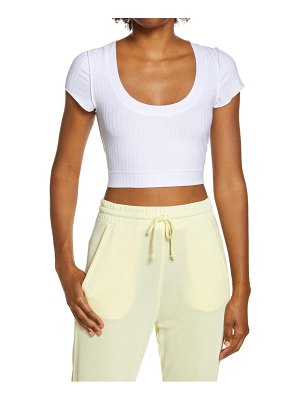 Free People FP Movement blissed out baby rib t-shirt