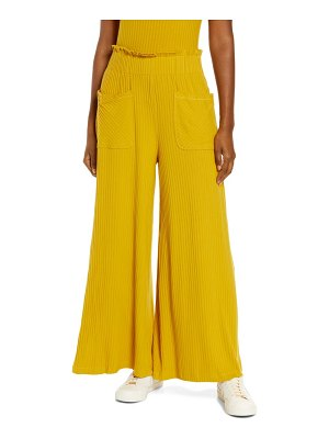Free People FP Movement blissed out wide leg pants