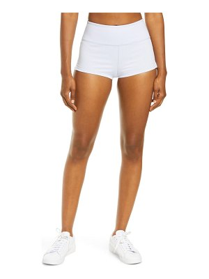 Free People FP Movement settle in the court high waist rib shorts