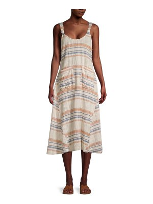 Free People Harper Striped Midi Dress