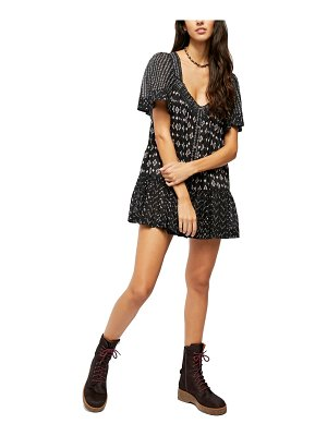 Free People hearts desire print tunic dress