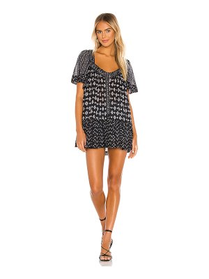Free People hearts desire printed mini dress