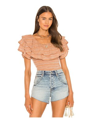 Free People heirloom top