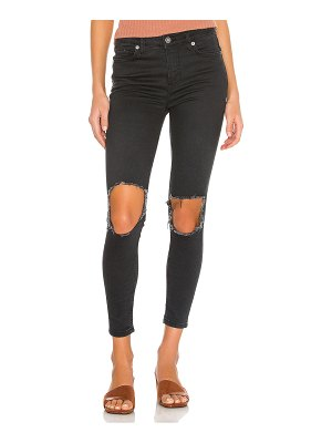 Free People high rise busted skinny jean. - size 24 (also