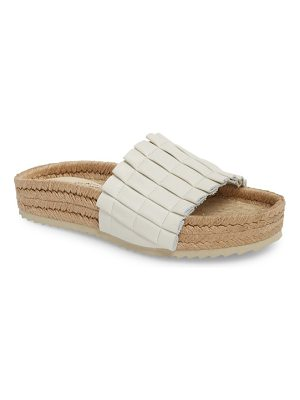 Free People island time espadrille slide sandal