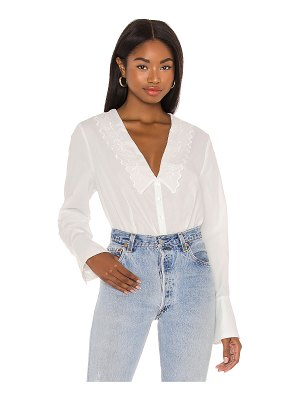 Free People janie button down top