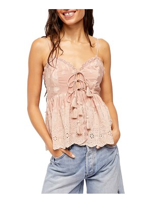 Free People jenna embroidered camisole