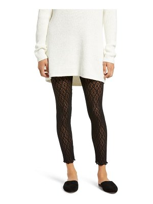 Free People layered in lace leggings