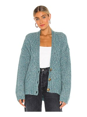Free People molly cable cardi