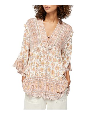Free People moonlight printed minidress