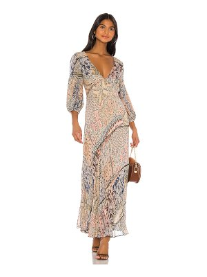 Free People moroccan dream maxi dress