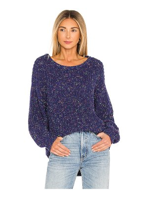 Free People neon lights pullover