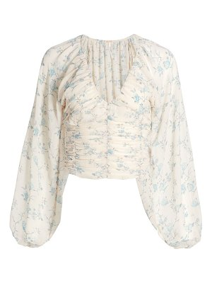 Free People new final rose blouse