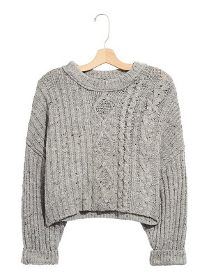Free People on your side crop sweater