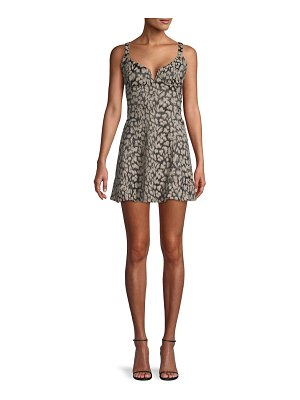 Free People Printed Mini Dress