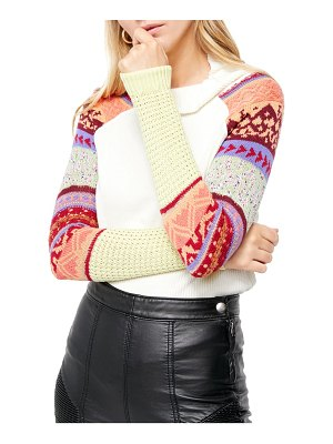 Free People prism sweater