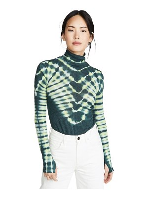 Free People psychedelic turtleneck pullover