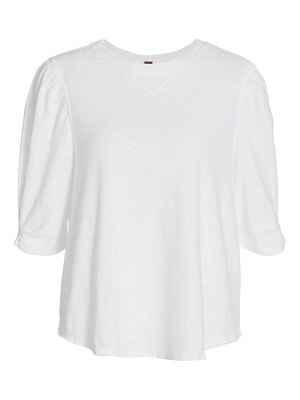 Free People puff sleeve t-shirt
