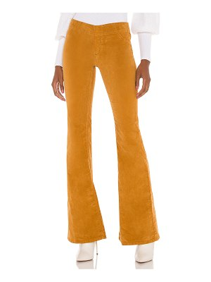 Free People pull on cord flare pant