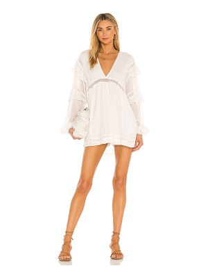Free People seashell skort romper