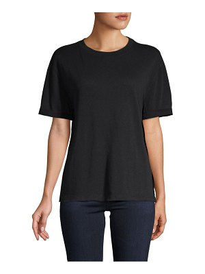 Free People Short-Sleeve Cotton-Blend Tee