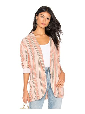 Free People Simply Stripe Blazer