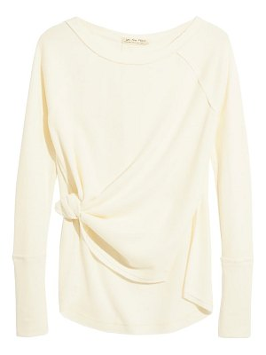 Free People snowy thermal shirt
