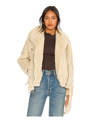 Free People so cozy slouchy moto