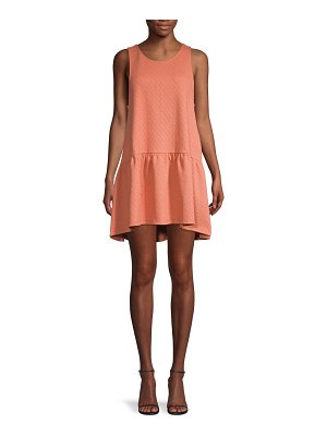 Free People Textured Mini Dress