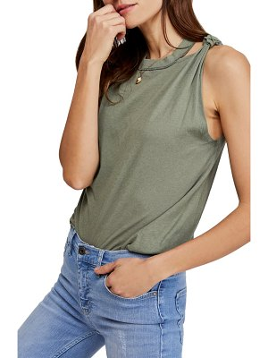 Free People the twist distressed tank