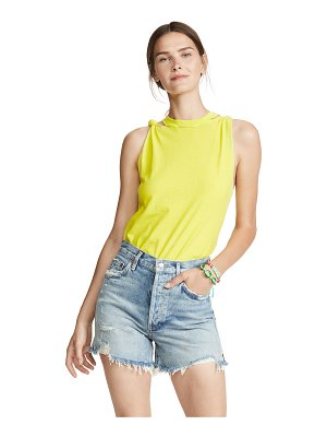 Free People the twist solid tank