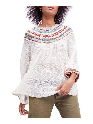 Free People vacation sweater