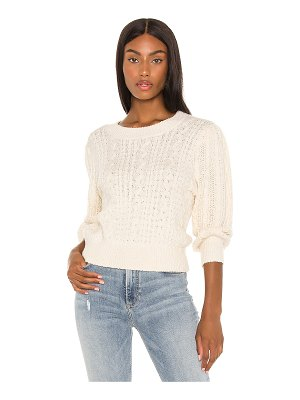 Free People villa cable pullover