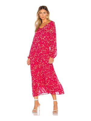Free People wall flower midi dress