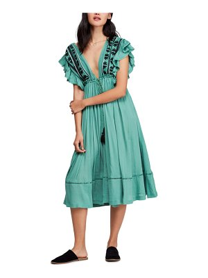 Free People will wait for you midi dress