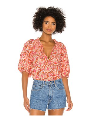 Free People willow blouse